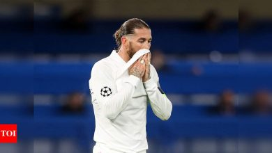 Sergio Ramos suffers hamstring injury, may have played last game for Real Madrid   Football News - Times of India