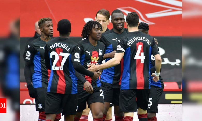Palace secure top-flight status with 2-0 win at Sheffield United   Football News - Times of India