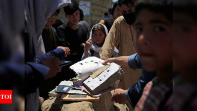 Death toll soars to 50 in school bombing in Afghan capital - Times of India