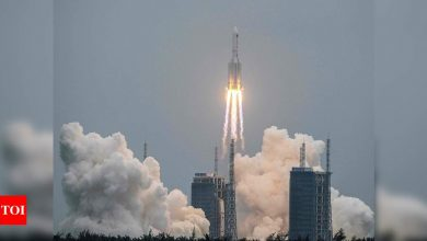 NASA denounces China over 'irresponsible standards' after its rocket disintegrates over Indian Ocean - Times of India