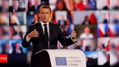 New military letter warns Macron over 'survival' of France - Times of India