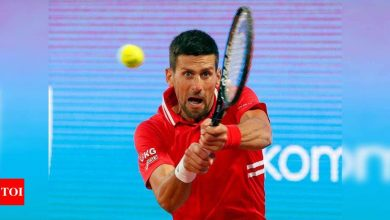 Change is coming to the rankings, it's inevitable, says Novak Djokovic   Tennis News - Times of India