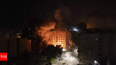 35 killed in Gaza, 5 in Israel, as violence escalates - Times of India