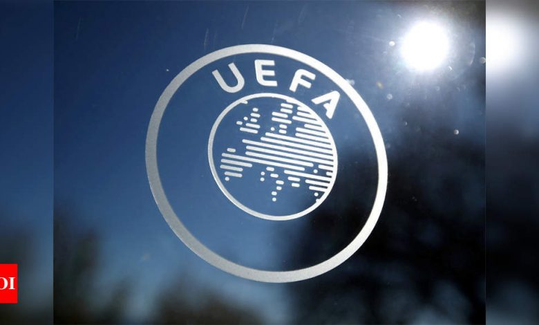 UEFA opens disciplinary proceedings against three Super League clubs Real, Barca and Juve | Football News - Times of India