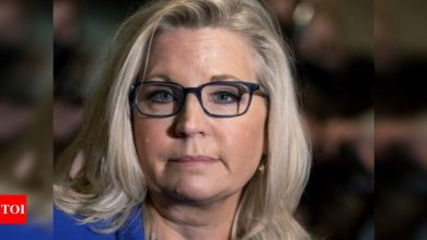 GOP ousts Trump critic Liz Cheney from top post - Times of India
