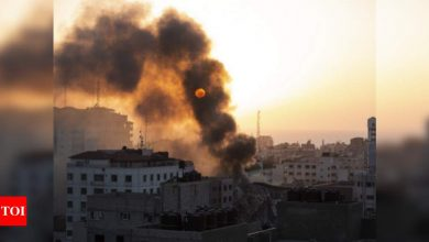 56 killed in Gaza, 6 in Israel, fears of full-scale war mount - Times of India