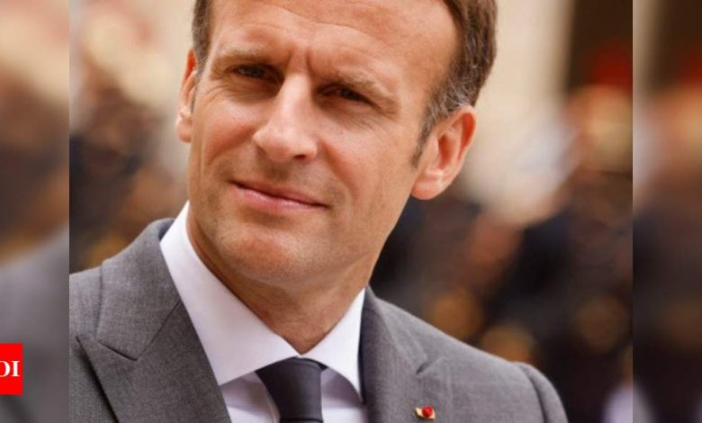 Macron's party bars local poll candidate over hijab photo - Times of India