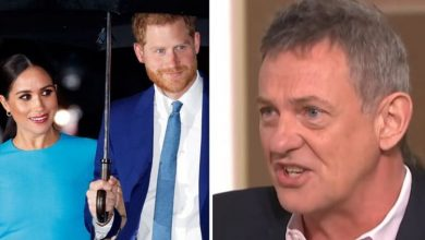 Matthew Wright slapped down 'outrageous double standards' in treatment of Meghan and Harry