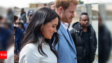 Madame Tussauds moves Prince Harry and Meghan waxworks from royals - Times of India