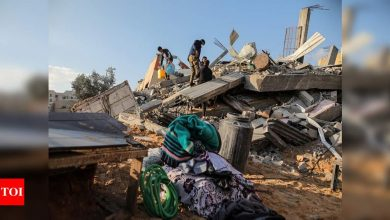 Gaza conflict intensifies with rocket barrages and air strikes - Times of India