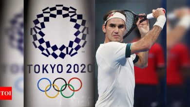 Competitors need decision on Tokyo Olympics, says Roger Federer   Tennis News - Times of India