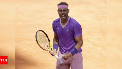 Nadal brushes past Opelka into 12th Rome final   Tennis News - Times of India