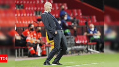 Zinedine Zidane to leave Real Madrid at end of season: Reports   Football News - Times of India
