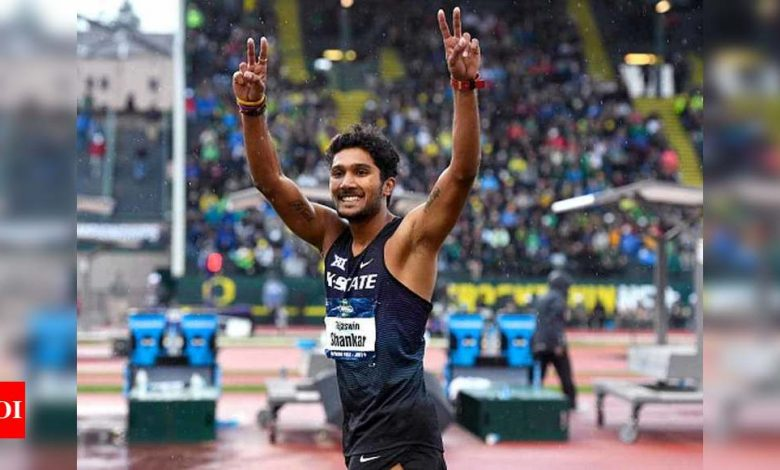 Tejaswin Shankar wins consecutive high jump titles in USA | More sports News - Times of India