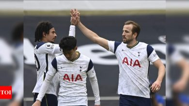 EPL: Kane helps tame Wolves and boost Spurs' European chances | Football News - Times of India