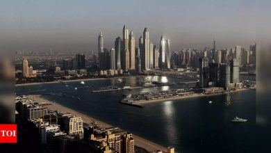 A tough sell: In Dubai amid clash, Israel promotes tourism - Times of India