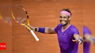Nadal stays third in ATP rankings despite Rome triumph | Tennis News - Times of India