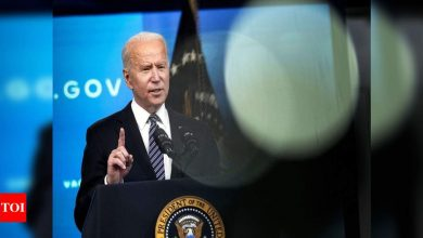Biden boosting world vaccine sharing commitment to 80 million doses - Times of India