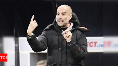 Pep Guardiola hopes Sergio Aguero is fit for his final Manchester City game at Etihad | Football News - Times of India