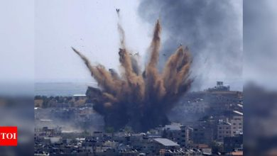 Israel, Hamas trade fire in Gaza as war rages on - Times of India