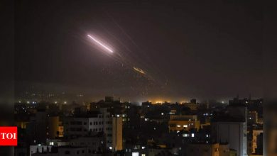 Rockets from Gaza rain havoc on Israeli cities in latest war - Times of India