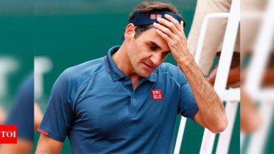 Federer loses comeback match to Andujar at Geneva Open   Tennis News - Times of India