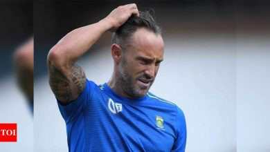 Received death threats after South Africa's 2011 World Cup exit, reveals Faf du Plessis | Cricket News - Times of India