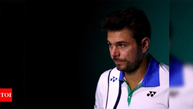 Former champion Wawrinka withdraws from French Open   Tennis News - Times of India