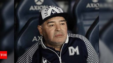 Maradona doctors face premeditated murder charge over star's death: Source   Football News - Times of India