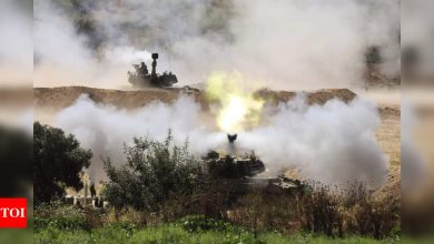 Israel unleashes strikes after vowing to press on in Gaza - Times of India