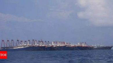China, US argue over naval activity in South China Sea - Times of India