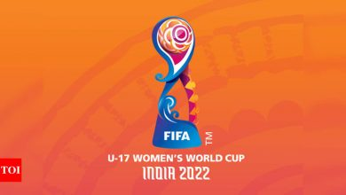 FIFA U-17 women's World Cup 2022 in India to kick off on October 11 | Football News - Times of India