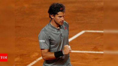 Thiem heads to Roland Garros short on confidence, matches | Tennis News - Times of India