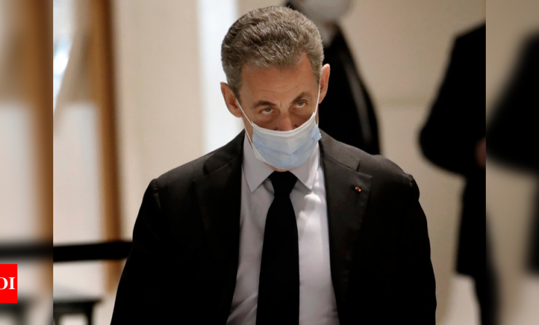 France's Nicolas Sarkozy goes on trial over 2012 campaign financing - Times of India