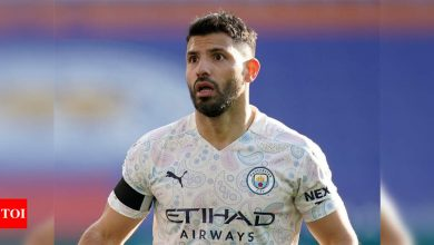 Aguero was like a 'lion in the jungle' in the Premier League: Guardiola | Football News - Times of India