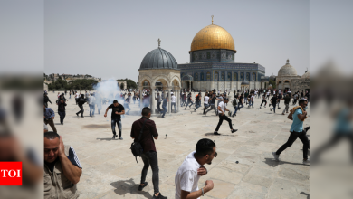 Scattered clashes at Jerusalem holy site after Gaza truce - Times of India