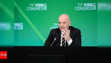 Gianni Infantino refuses to deny having met breakaway clubs | Football News - Times of India