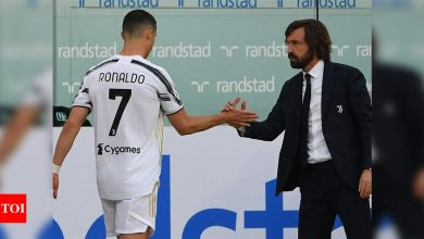 Ronaldo 'still a Juve player,' insists Pirlo before crunch finale | Football News - Times of India