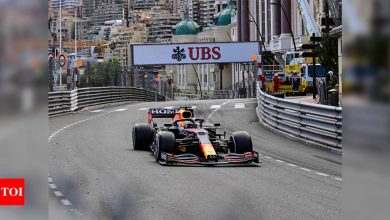 Verstappen wins Monaco GP to take F1 lead from Hamilton | Racing News - Times of India