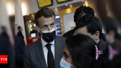Heavy metal rocks French President's palace after YouTube bet - Times of India