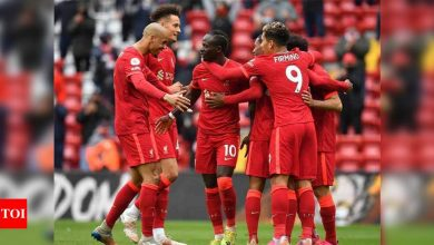 Mane double secures Champions League spot for Liverpool | Football News - Times of India