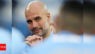 Man City only need one shot at Champions League glory: Guardiola | Football News - Times of India