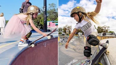 How 6-year-old skateboarding star's life changed after going viral