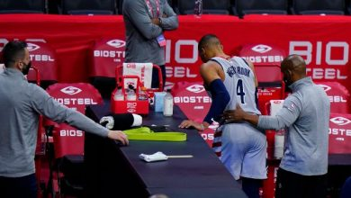 NBA: Philadelphia 76ers issue indefinite ban to supporter for dumping popcorn on Wizards' Russell Westbrook