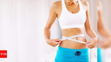 5 simple ways to lose water weight - Times of India