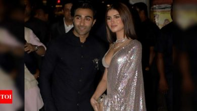 Aadar Jain on his relationship with Tara Sutaria: We are in a happy space - Times of India