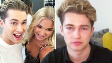 Abbie Quinnen says AJ Pritchard was wracked with guilt as her burns impacted relationship