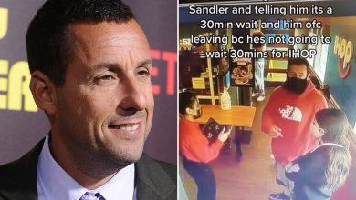 Adam Sandler has hilarious response to being turned away from IHOP
