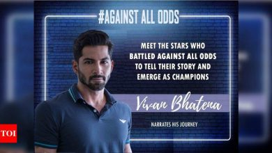 #AgaintAllOdds! Vivan Bhatena: I had a tough time moving from TV to films; I didn't have work for 5 years - Times of India