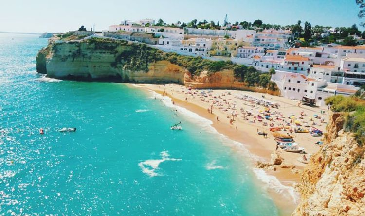 Algarve holidays: Portugal set for 80F heatwave as first UK tourists arrive in Faro